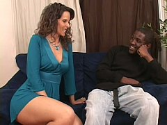 Mom seduces her well hung stepson