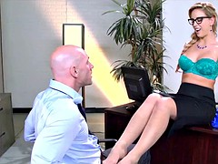 Blonde MILF is a Cock Consultant