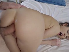 italian babe rebecca volpetti and her first anal
