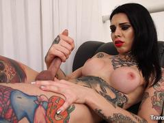 shemale-gaby-ink-jerks-off