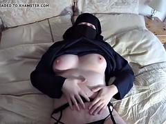 Amateur, Arabe, Masturbation, Mère que j'aimerais baiser, Épouse