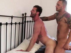 Tattoo bottom anal sex and facial