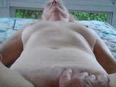 He loves Fingering her 70 Year Old Pussy.