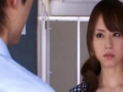 Akiho Yoshizawa innocent Chinese kitten gets pink slit licked