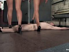 Bondage, Femme dominatrice, Fétiche, Strapon