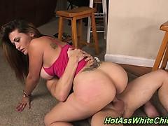Big butt whore railed