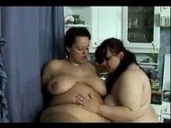 Adult bbw Kitchen Lesbians