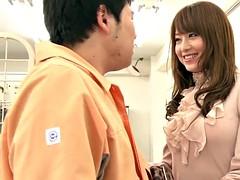 Asiático, Chica, Japonés