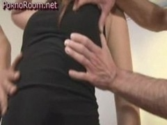 Sex Three Dudes Making love One Woman With Huge Booty
