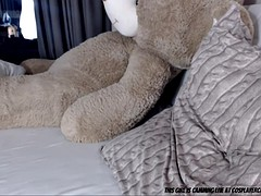blonde teen masturbating for fun