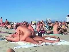 素人, お尻, ビーチ, フェラチオ, 茶髪の, 淫乱熟女, 現実, のぞき