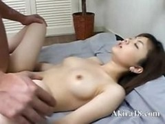 Japanese faggot licking super bushy vagina