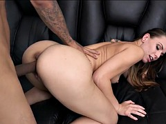 she can't get enough black cock