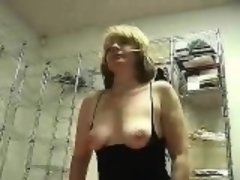 Tish driving a Sybian