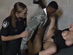 fake soldier gets used as a sex toy