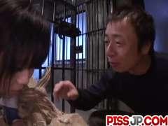 Minami Asaka goes nasty on two shafts during 3 way porn