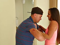 Stepsister Amirah gets punished