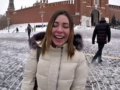 ally breelsen gets picked up on red square and fucked by italian dude