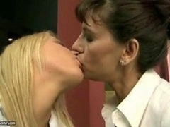 Blonde, Brunette brune, Grossier, Mature, Adolescente