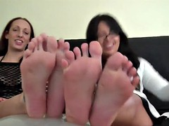 beg and we might let you worship our feet joi