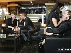 Alexis Crystal Loses Her Anal Virginity in an Orgy with Texas Patti