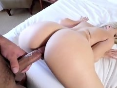 Wonderful blonde is practicing unforgettable sex with her BF