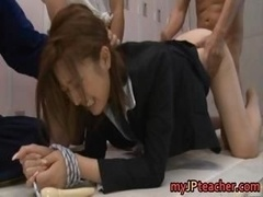 Ai Haneda Oriental teacher gets a hard piece6