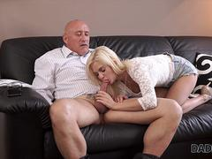 DADDY4K. Horny blondie wants to try someone little bit...