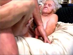 Mature couple having sex on camera