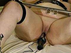 18-Jun-2015 V2 slut slave cunt and anal electrodes