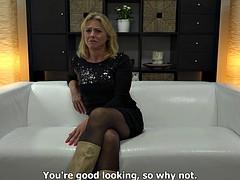52-Year Old Blonde Czech MILF