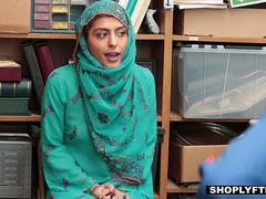 Shoplyfter - Hijab Teen Harassed and Strip-Searched