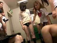 Asiático, Dominacion femenina, Japonés