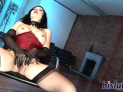 Hardcore interracial threesome with two luscious bombshells