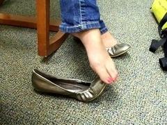 non-pro shoeplay sexy