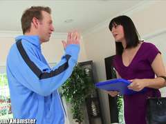 LeWood Bobby Starr Gets her Furry Vulva and Bootie Pummeled