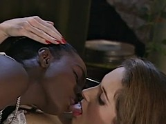 one cock pleasuring two hot girls