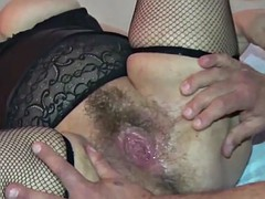 bbw hairy pussie! ass licking and double penetration!