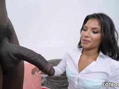 Latina big booty teacher Martini Bows and huge black cock