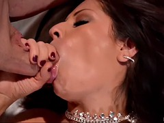 susana alcal seduced by two men for an incredible threesome