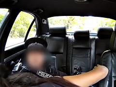 interracial cocksucking slut punished by cop