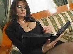 Aged Boobalicious Secretary Sex