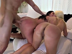 Big ass Layla Price and Brittany Shae