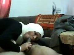 Arabic lady fucked on camera