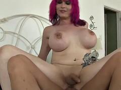 great sex with the kinky tranny kitty k