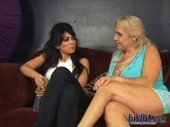 Mischka France and moreover Wand moreovera Lust sit on the couch discussing their sex life
