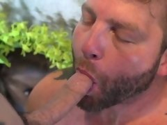 Throated inked twink assfucked by muscle jock