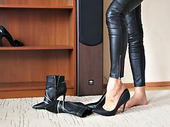 Amateur, Lingerie, Collant, Chaussures