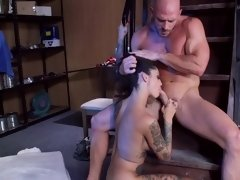 Wild rocker slut with a tattooed body gets her holes destroyed