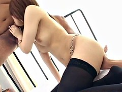 Nozomi Uehara has dicks in mouth and ass